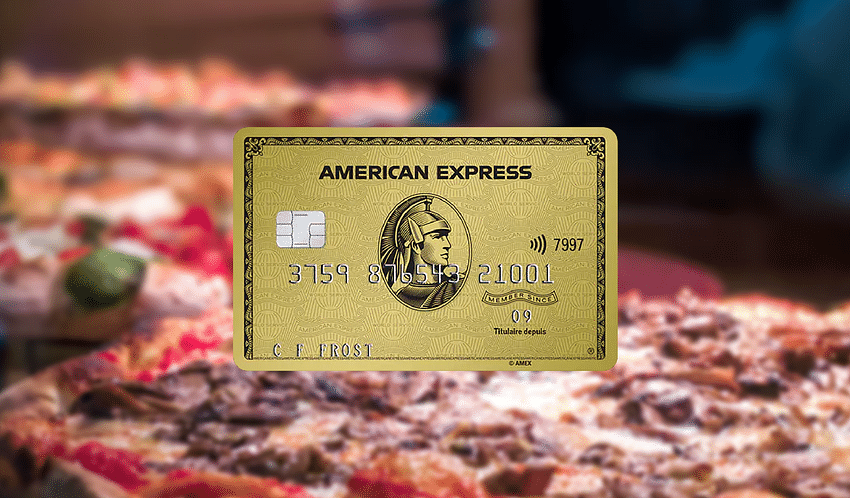 Amex Gold Food Delivery Bonus Points